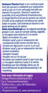 Bijschrift Vitamine D 50+