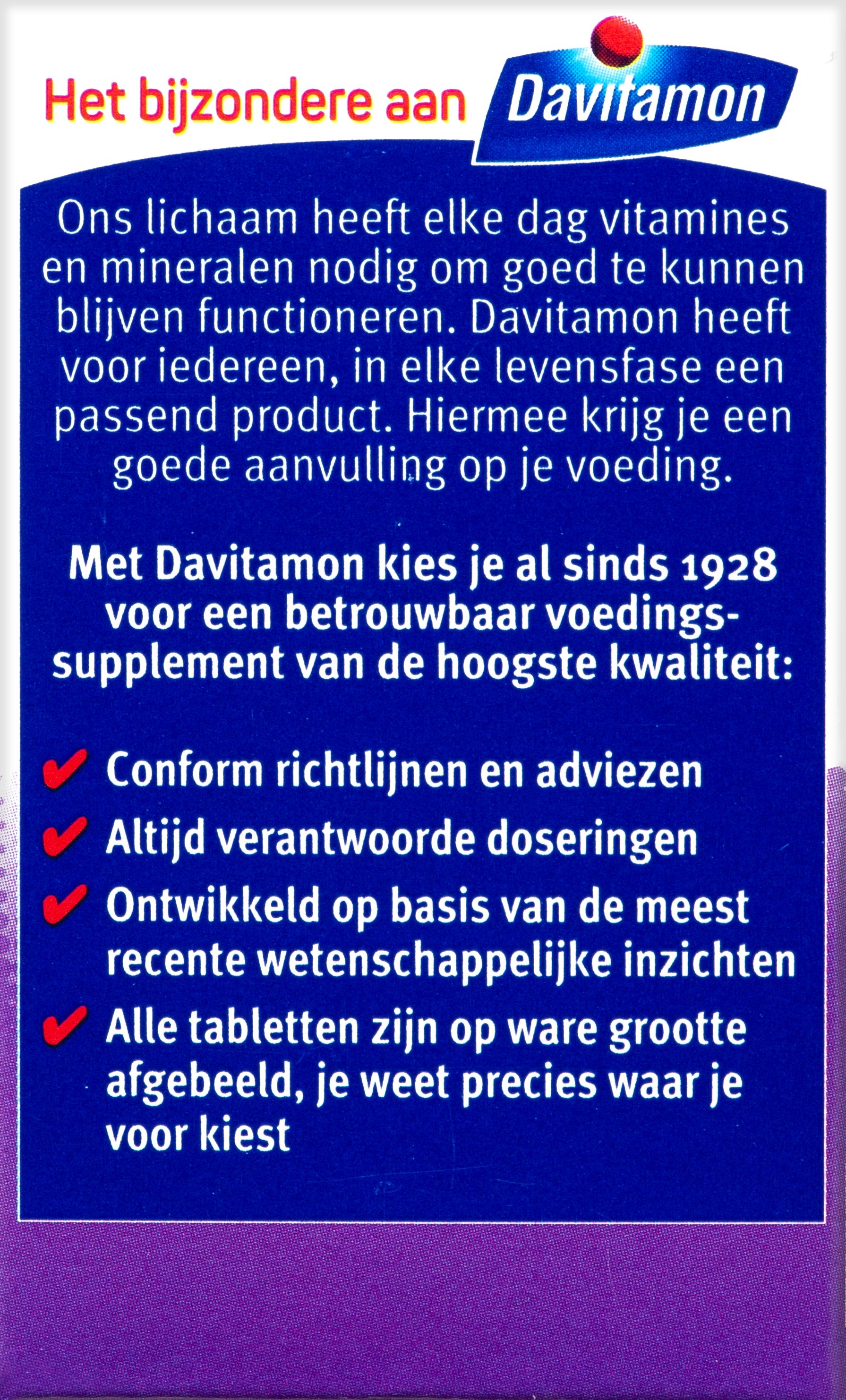 Verpakking Vitamine D - 50+