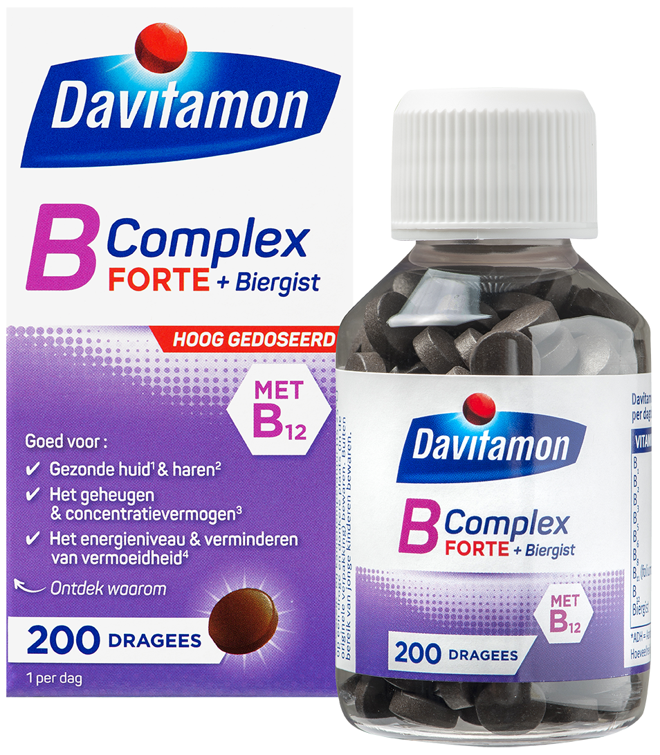 Davitamon B Complex Forte &#8211; <br>200 dragees
