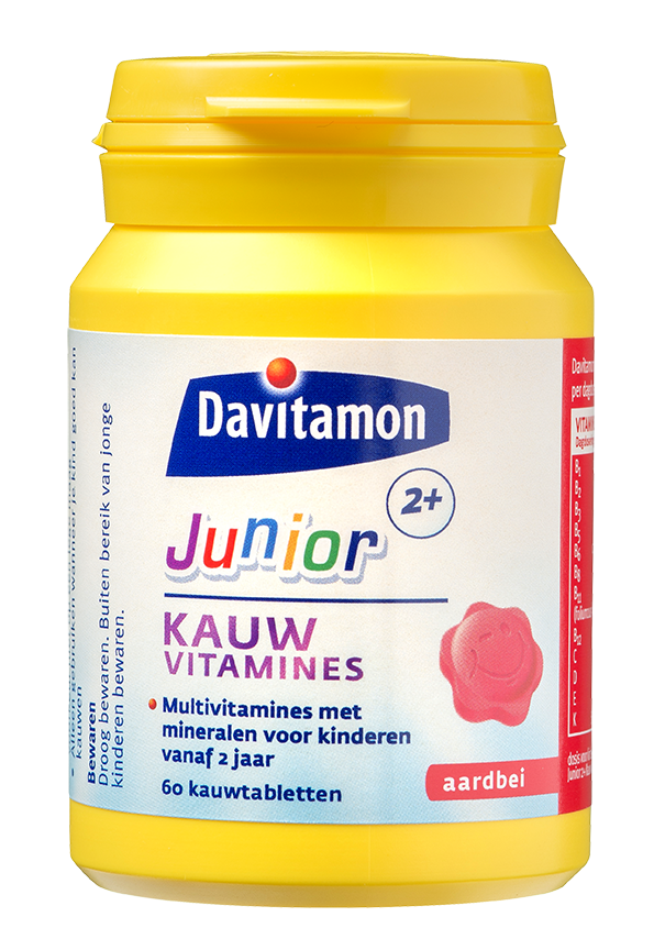 Davitamon Junior 2+ Kauwvitamines Product