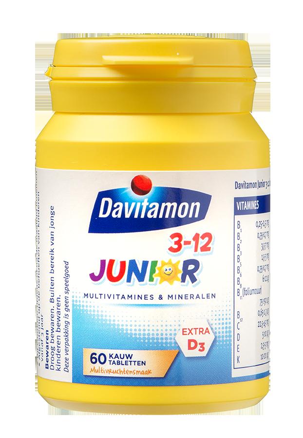 Davitamon Junior multivrucht Kauwtabletten Product