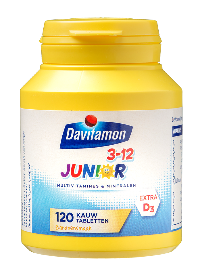 Davitamon Junior Banaan Kauwtabletten Product 2