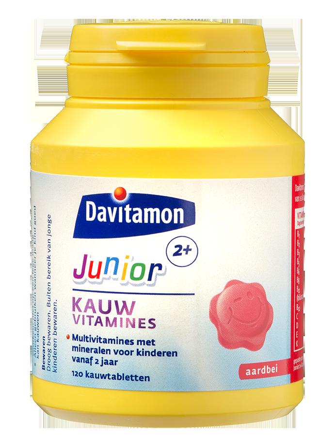 Davitamon Junior 2+ 120 Kauwvitamines Product