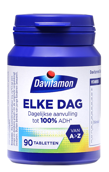 Davitamon Elke Dag Tabletten Product