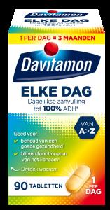 Davitamon Elke Dag Tabletten Verpakking
