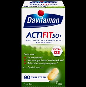 Davitamon Actifit 50+ Tabletten Verpakking