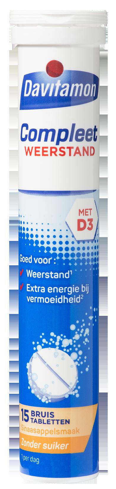 Davitamon Compleet Weerstand Bruistabletten Product
