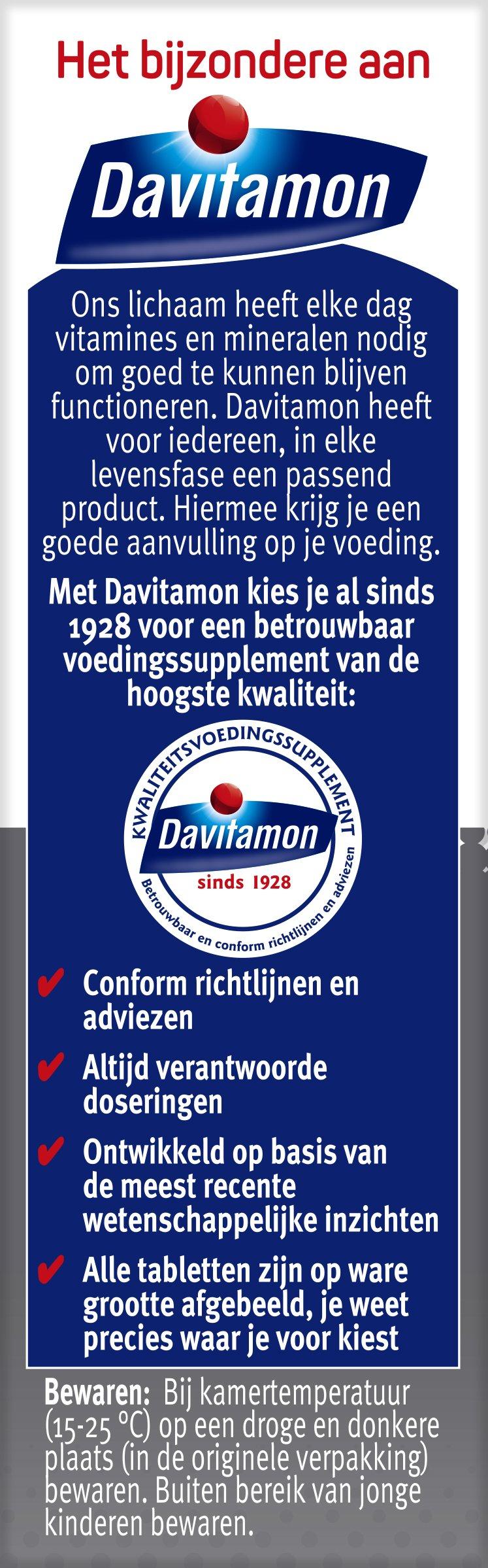Davitamon Compleet Man Tabletten Voordelen