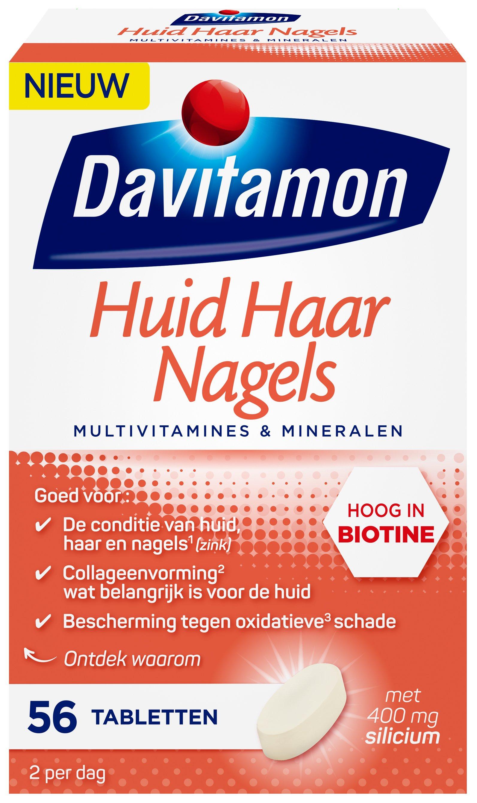 Davitamon Huid Haar Nagels Tabletten Verpakking