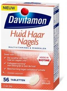 Davitamon Huid Haar Nagels Tabletten Verpakking 3d