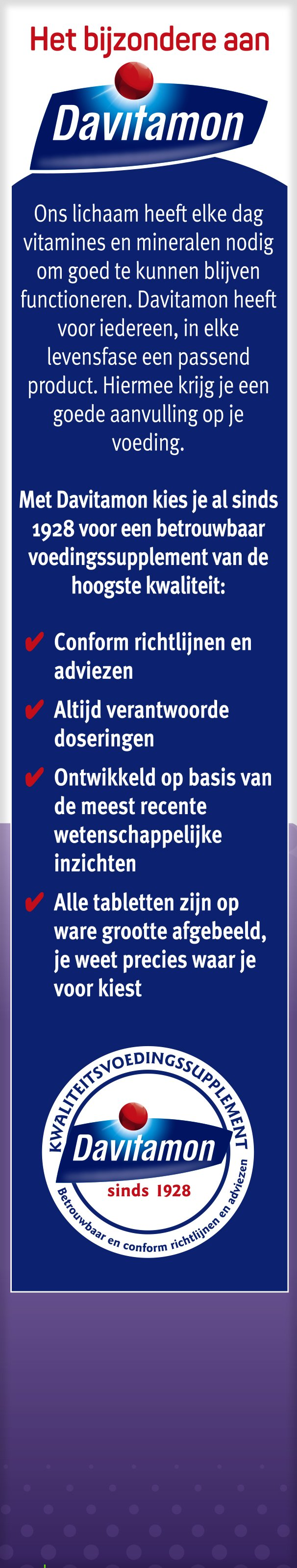 Davitamon Vitamine D week tabletten voordelen