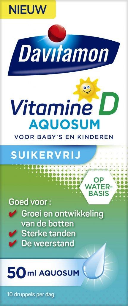 Davitamon Vitamine D Aquosum Suikervrij Verpakking