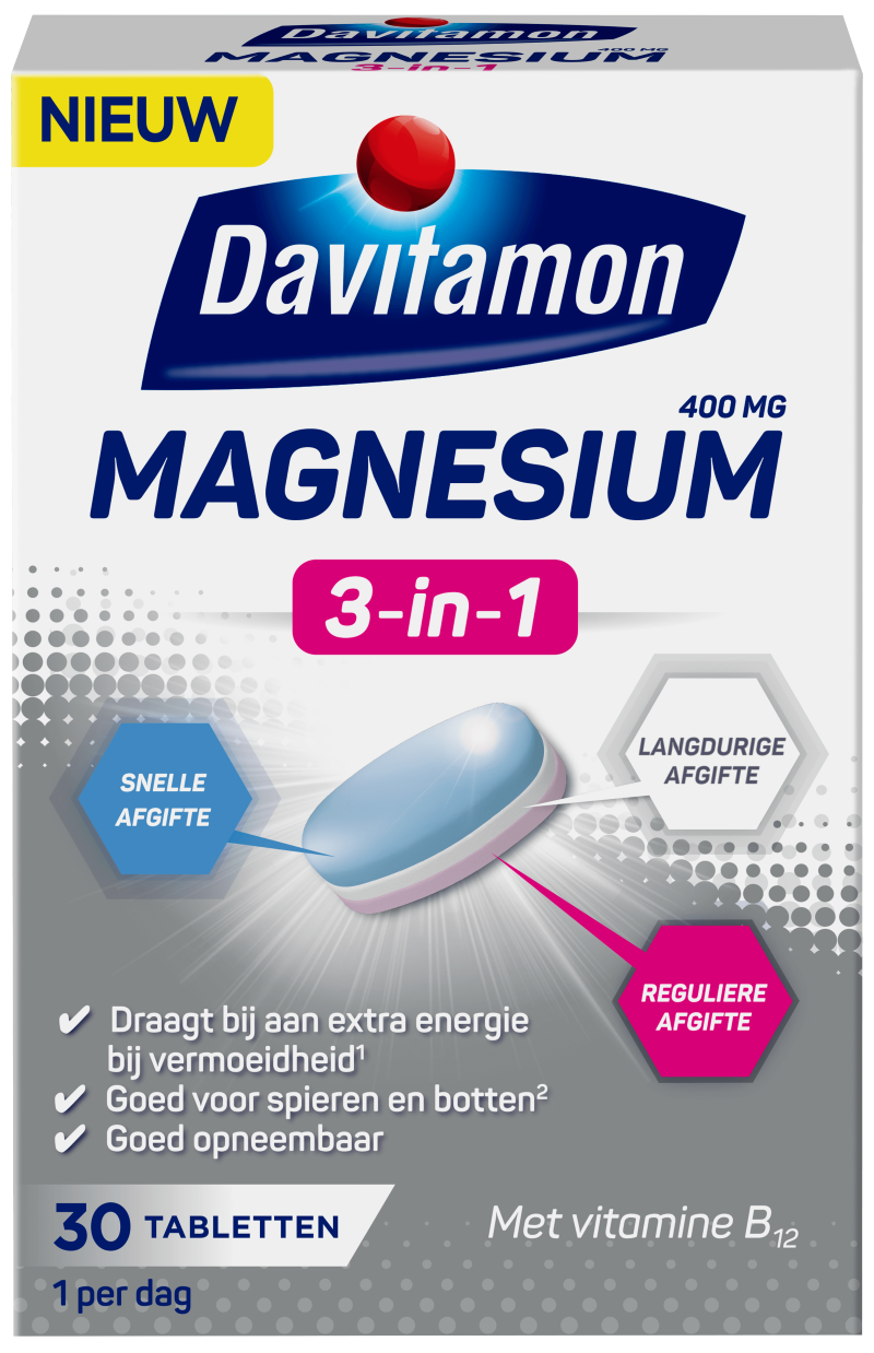 Davitamon Magnesium 3-in-1