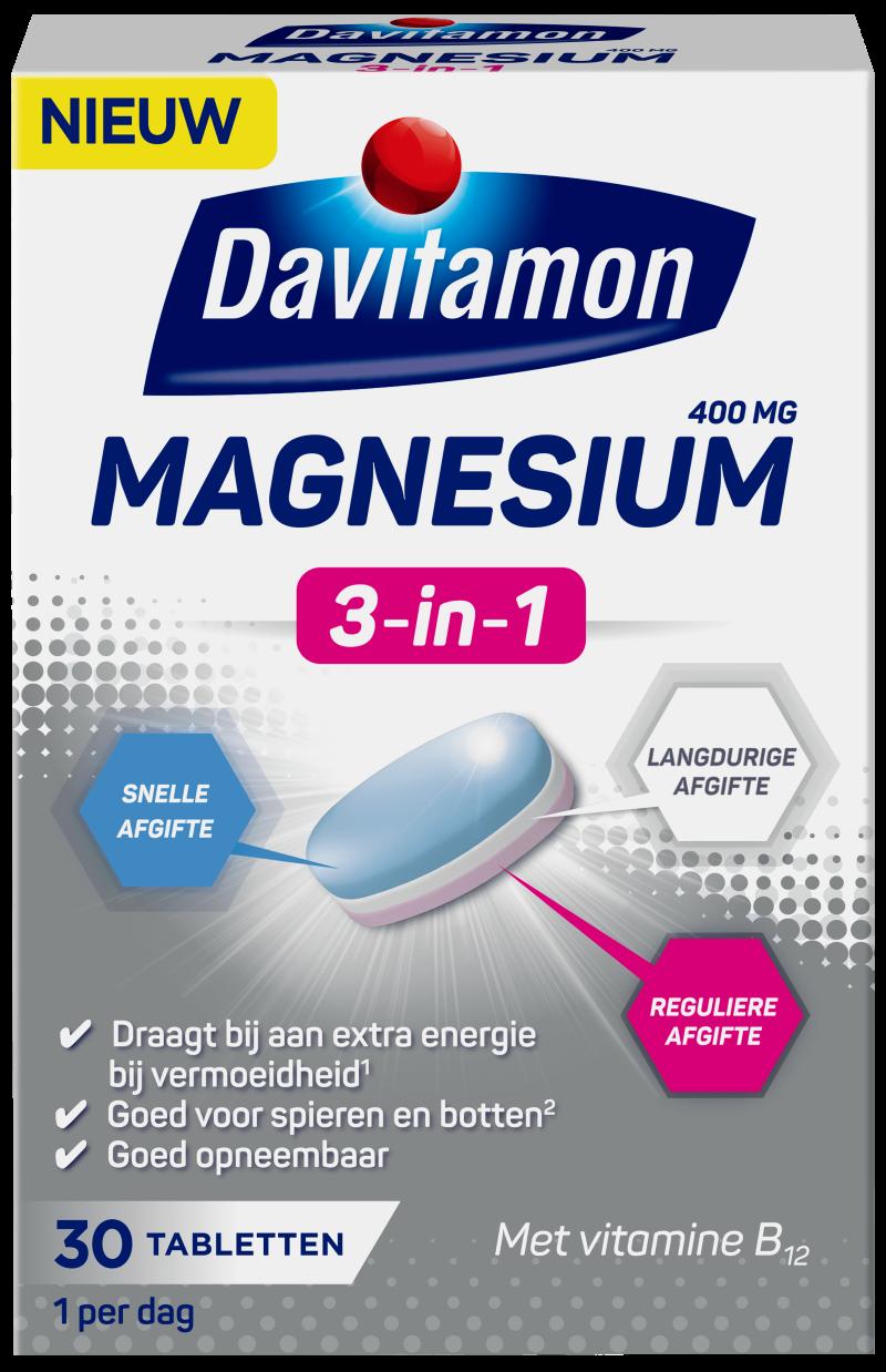 Davitamon Magnesium 3-in-1