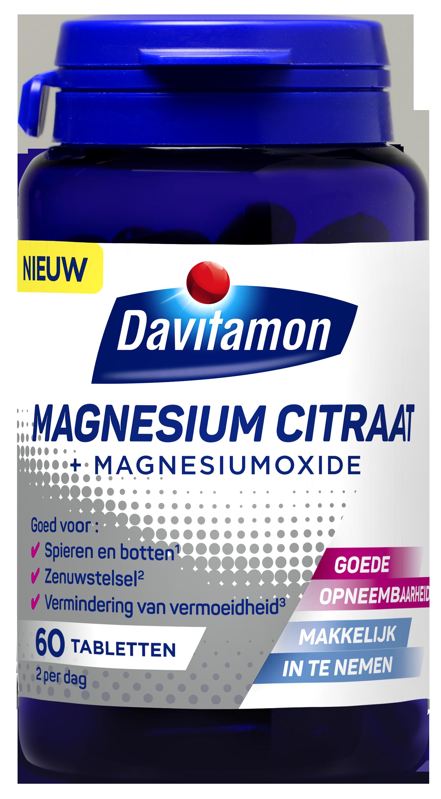 Davitamon Magnesium Citraat + Magnesiumoxide