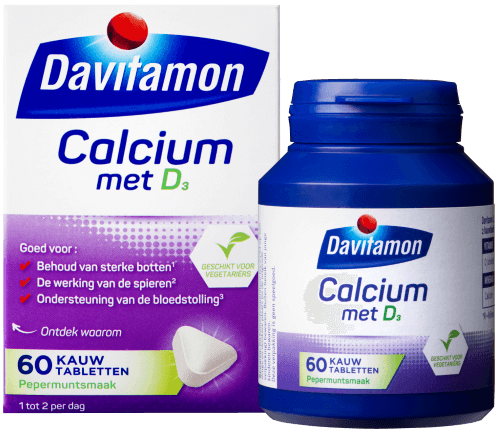 Davitamon Calcium met Vitamine D – 60 tabletten