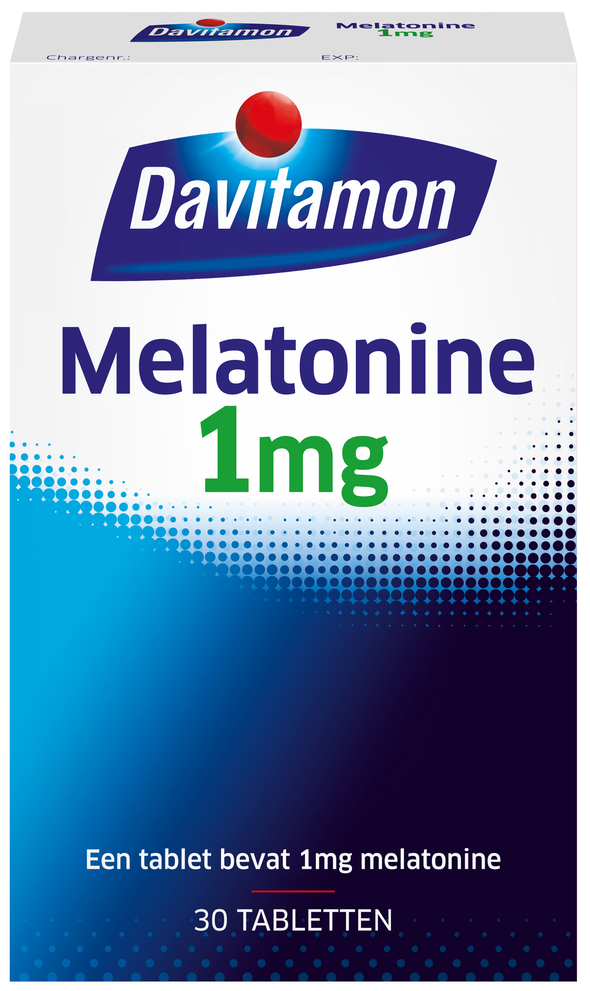 Melatonine 1 mg – 30 tabletten