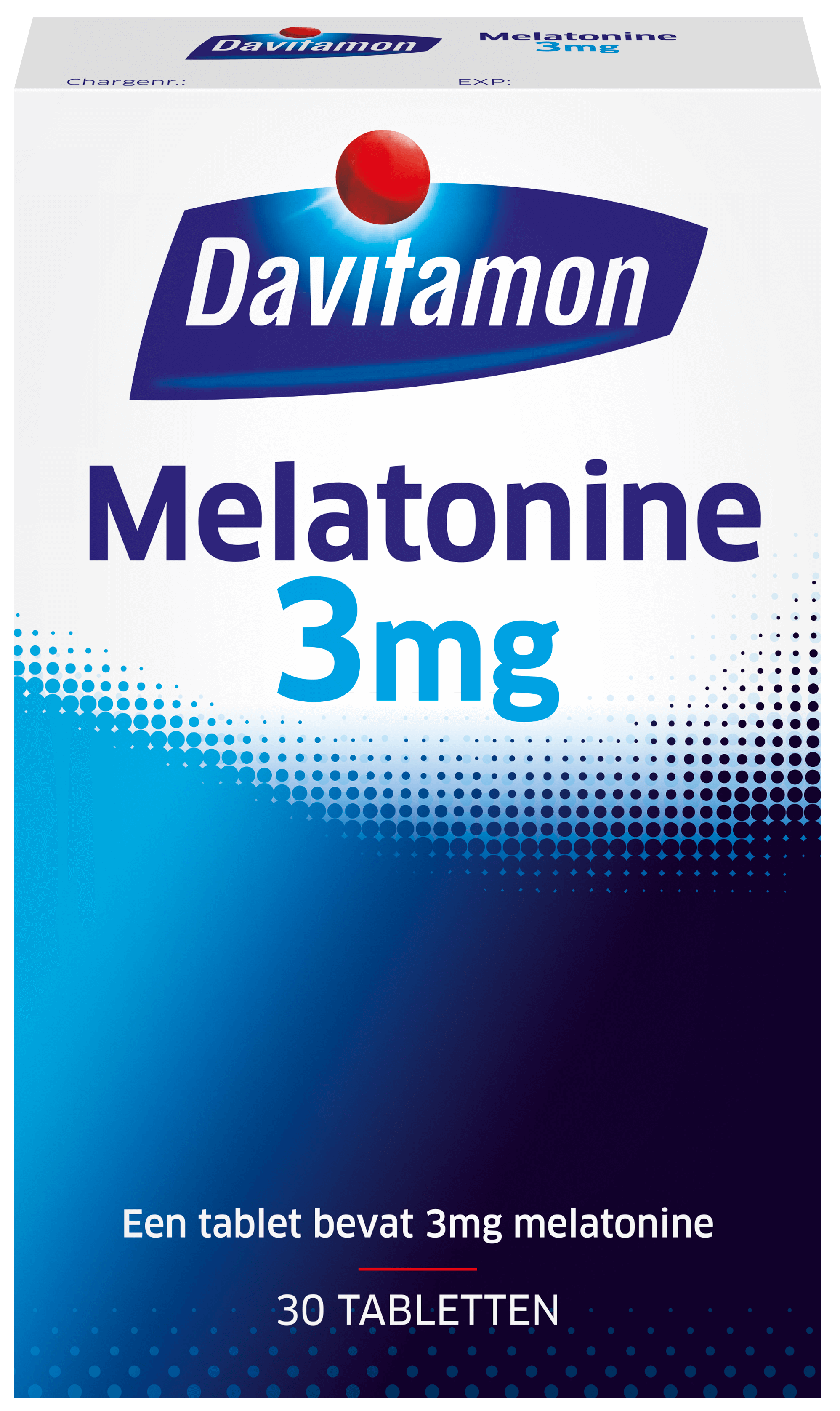 Melatonine 3 mg – 30 tabletten