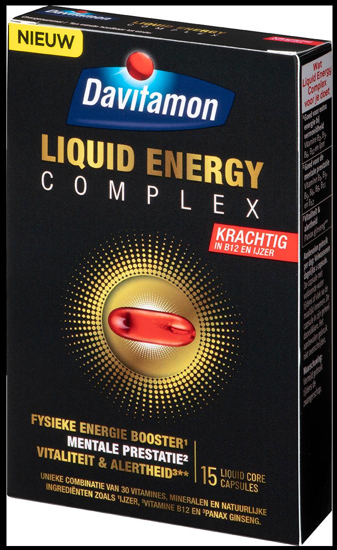 Davitamon Liquid Energy verpakking