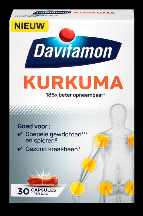 Verpakking Davitamon Kurkuma