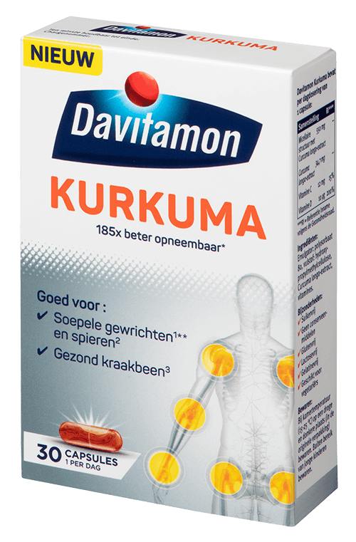 2D verpakking Davitamon Kurkuma
