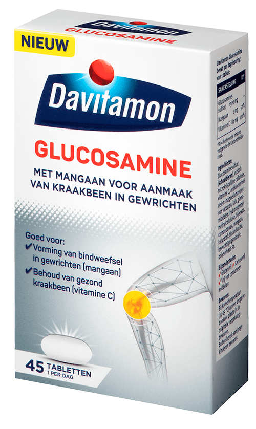 Verpakking Davitamon Glucosamine