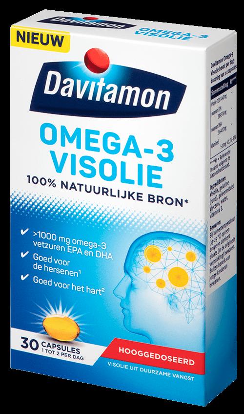 Davitamon Omega-3 visolie