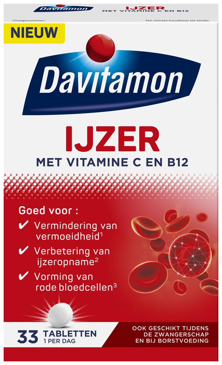 Davitamon IJzer met B12