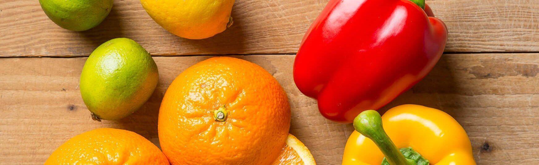 Limoenen, paprika's en sinaasappels