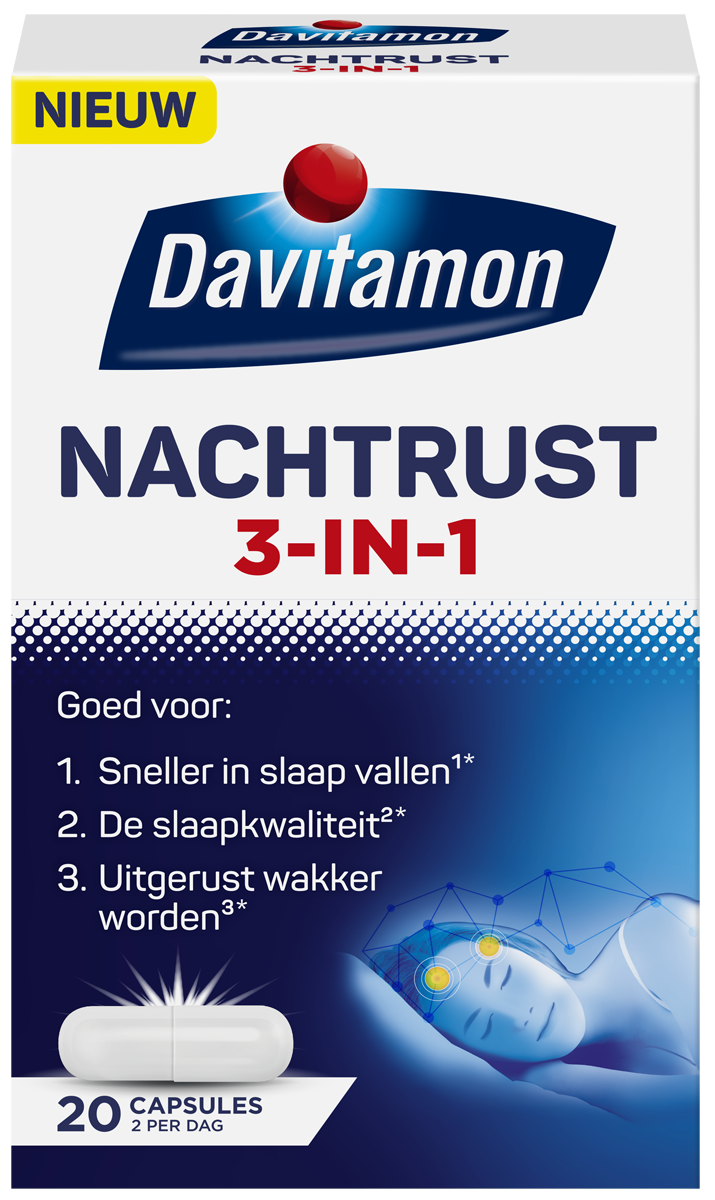 Davitamon Nachtrust 3-in-1
